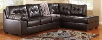 dazzling ashley durablend with patterned rug and durablend recliner