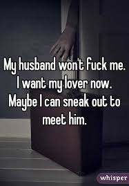 My husband will not fuck me