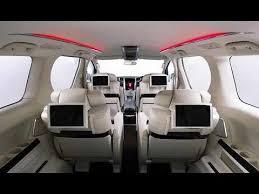 2018 Toyota Alphard Interior Design