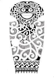 эскиз тату фото орнамент маори и лицо татуировки и эскизы