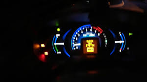 Honda Hybrid Ima Light Honda Insight 2012 1 3 Hybrid Ima Fault Youtube