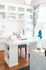 home office small desk. clean sleek office tour with lacoya heggie home office small desk
