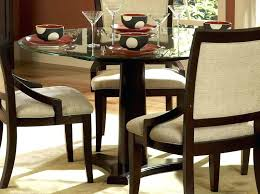 glass top dining tables with wood base glass top tables dining round glass top table with
