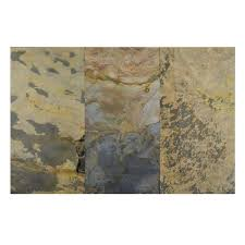 faststone indian autumn 12 in x 24 in slate l and stick wall tile