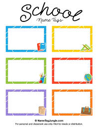 best 25 name tag templates ideas on kids name tags page sizes and tag templates
