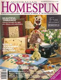 Australian Homespun volume 3 number 2 issue 10 2002, sewing ... & Australian Homespun volume 3 number 2 issue 10 sewing magazine, quilt  instructions, quilting magazine, quilts, patchwork patterns by Rethreading  on Etsy Adamdwight.com