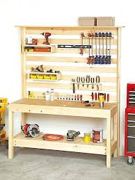 wall tool rack organizer workbench with wall storage wall tool rack organizer uk