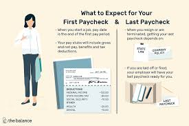 Year To Date Paycheck Calculator When You Can Expect To Get Your First And Last Paycheck