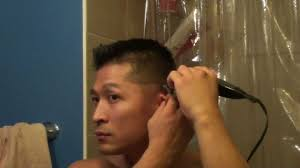 tutorial how to fade your own hair with hair clippers haircut for men you