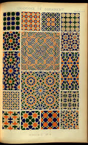 Moresque Design The Grammar Of Ornament Moresque From The Alhambra In 2020