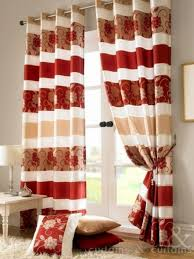 dark red curtains in red and beige curtains weasela regarding red and beige curtains enchanting