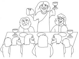 Small Picture The Last Supper Coloring Page Futpalcom Coloring Home