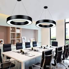 office chandelier lighting. New Arrival Modern Office Led Circle Pendant Lights Round Suspension  Hanging Lamp Ring Chandelier Ceiling Light Fixture Vintage Lighting From Office Chandelier Lighting L