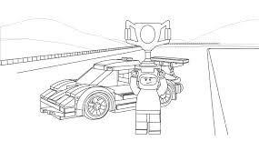 Small Picture Lego Coloring Page 60053 Race Car 2 Lego Pinterest Lego