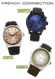 french connection watches arrive at watch supermarket watch one of french connection s more recent examples of brand diversity is their range of men s watches and ladies watches which prove to be equally as stylish