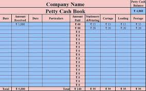 Petty Cash Log Book Petty Cash Log Excel Download Petty Cash Book Excel Template Create