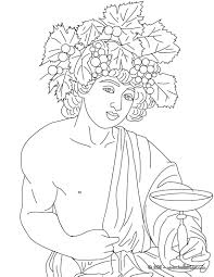 Small Picture DIONYSUS the Greek god of wine coloring page Mundo clsico