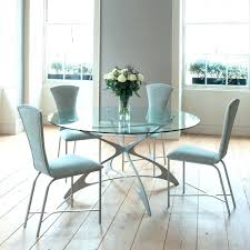round dining table with stools new glass dining table set for your pertaining to elegant house round glass tables for kitchen decor