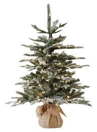 Ballard Designs Christmas Wreaths Flocked Frasier Fir Tabletop Tree By Ballard Designs Deck