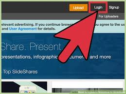 slede share how to upload a slideshow to slideshare with pictures wikihow