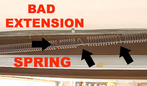 how to adjust garage door springsHow to Spot and Replace an Unsafe Garage Door Extension Spring