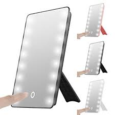 Portable Vanity Mirror With Lights Beauteous Led Vanity Mirror House Decorations