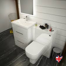 Stylish bathroom furniture Bathroom Design Patello 1200 Bathroom Furniture Set White Straight Stylish Bathroom And Cloakroom Indiamart Patello 1200 Bathroom Furniture Set White Buy Online At Bathroom City