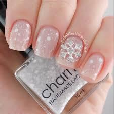 33 beautiful snowflake nail art designs
