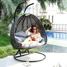 full size of outdoor hanging chair cushions egg with stand person heavy duty wicker porch swing