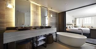 luxury modern hotel bathrooms. Contemporary Bathrooms 7 Brilliant Modern Hotel Bathroom Design The Serras Barcelona  Luxury Hotels In New Orleans Throughout Bathrooms P