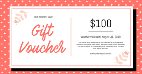 Free Professional Gift Voucher Templates Postermywall