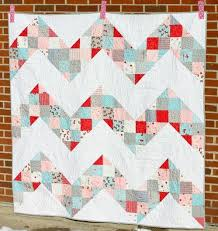 Chevron Quilt Pattern Interesting Exhilarating Chevron Quilt Pattern FaveQuilts