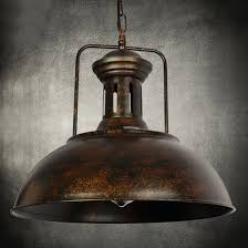 details about 16 industrial nautical barn pendant light lamp with rustic dome bowl shape