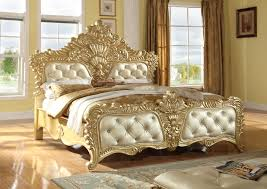 gold bed frame queen. Contemporary Gold Meridian Furniture Zelda Rich Gold Queen Bed Click To Enlarge  With Frame L