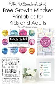 These free coloring pages are available on the series designs and animated characters on getcolorings.com. The Ultimate List Of Free Growth Mindset Printables For Kids And Adults Bits Of Positivity