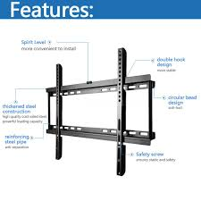the b05 tv mount is compatible with led lcd and plasma tvs and other flat panel display between 40 and 70 inches weigh less than 110lbs