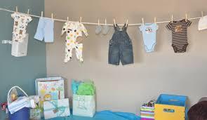 Modern Clothesline Baby Shower Ideas | Babywiseguides with Baby Shower  Clothesline