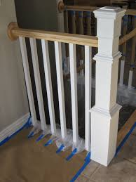Stair Finishes Pictures Remodelaholic Stair Banister Renovation Using Existing Newel