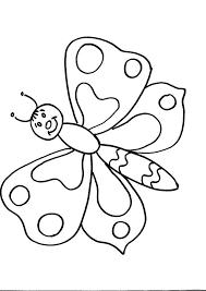 Simpatica Farfalla Con Occhi Disegno Per Bambini Disegni Da