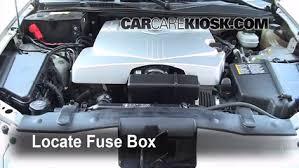 replace a fuse 2003 2007 cadillac cts 2006 cadillac cts 3 6l v6
