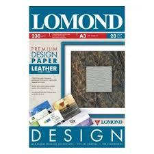 Дизайнерская <b>бумага LOMOND Глянцевая</b> Кожа, <b>A3</b>/230/20л ...