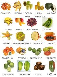 tropical fruit names.  Fruit Names Of Exotic Fruits And Vegetables Find Local Farmers Farmersmecom With Tropical Fruit O