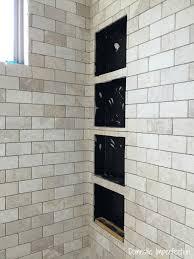 shower niche progress