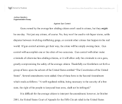 anti gun control essay pro gun control essays gun control essay  anti gun control essay pro gun control essays gun control essay topics essays com essays com
