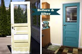 Small Picture Kitchen Door Makeover with FolkArt Home Decor Chalk Sweet as a