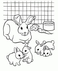 Bunny coloring pages are the simplest way for your children to let their cute out. Get This Cute Bunny Coloring Pages Free To Print 84061