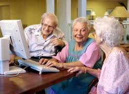 Image result for old people computers