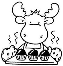 Moose Clipart Muffin Unique If You Give A Moose A Muffin Coloring