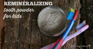 diy remineralizing tooth powder for kids