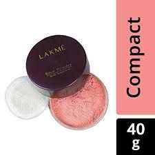 lakme rose face powder soft pink 40g